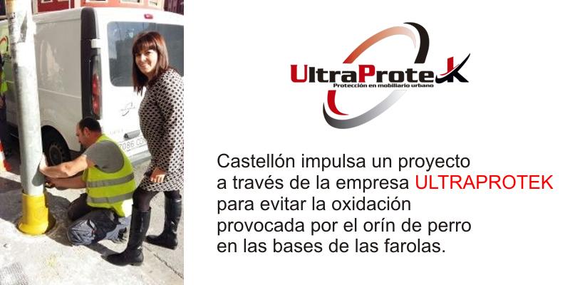 Ultraprotek protección farolas Castellón